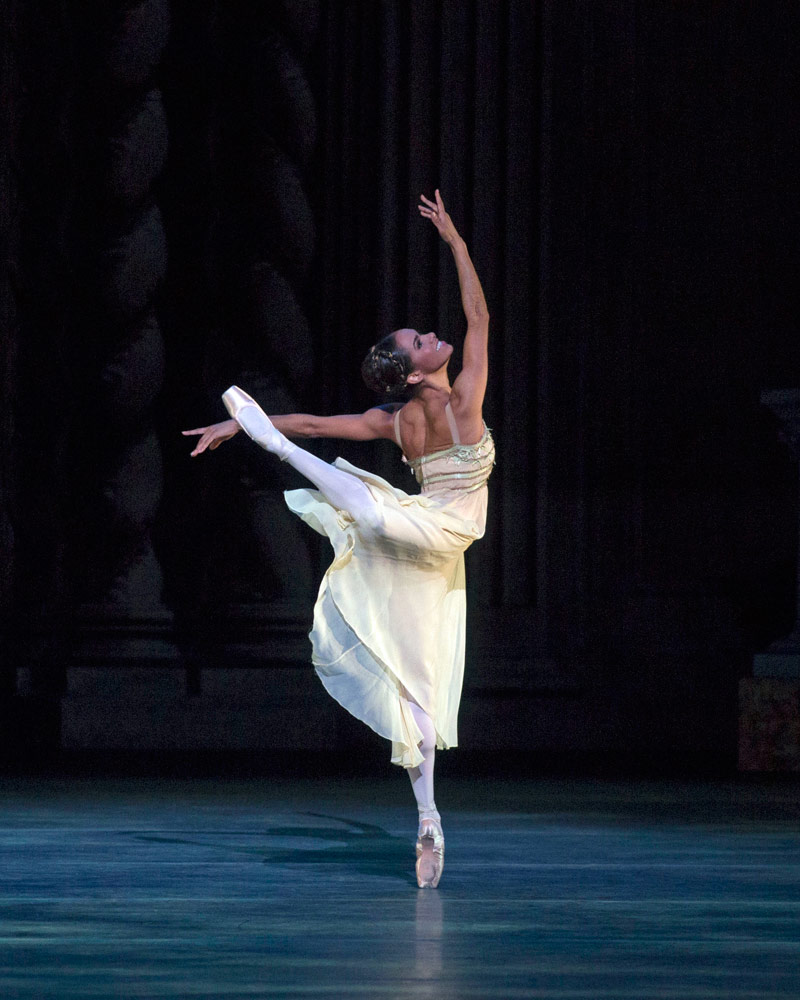 Misty Copeland in <I>Romeo and Juliet</I>.<br />© Rosalie O'Connor. (Click image for larger version)