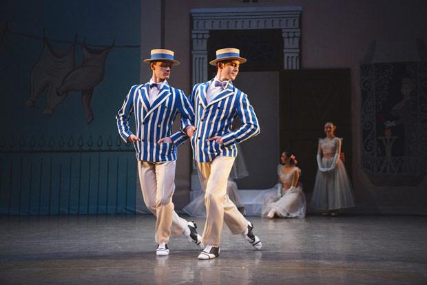 Jamie Bond and Mathias Dingman in Ashton's Facade.© Roy Smiljanic. (Click image for larger version)