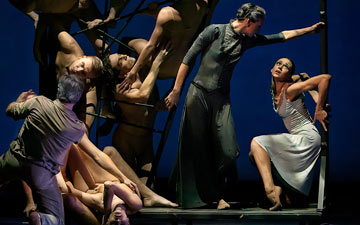 Eifman Ballet in Boris Eifman's Rodin.© Souheil Michael Khoury. (Click image for larger version)
