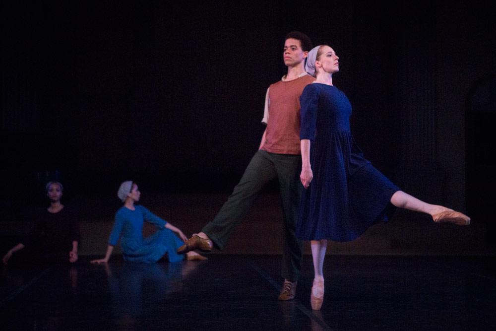 New York Theatre Ballet in Anthony Tudor's Dark Elegies.© Yi-Chun Wu. (Click image for larger version)