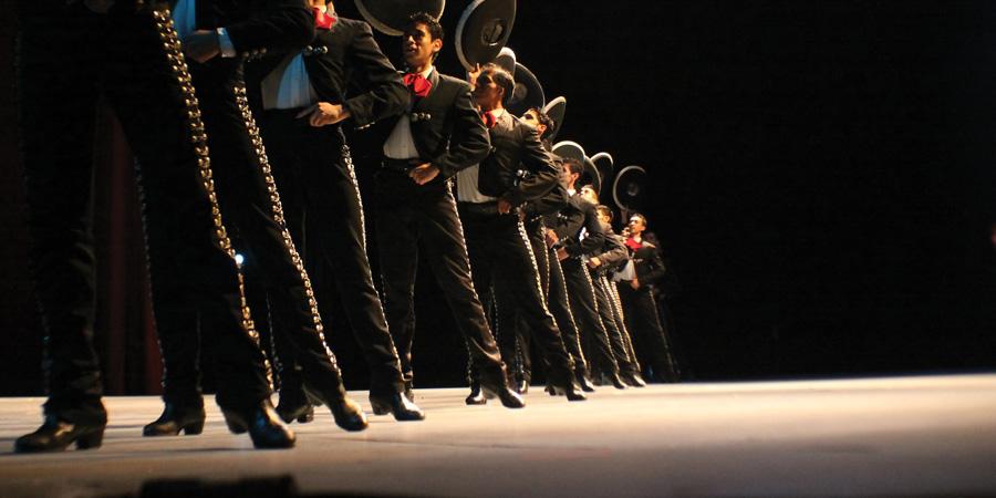 Ballet Folklorico De Mexico.<br />© Ballet Folklorico De Mexico De Amalia Hernandez. (Click image for larger version