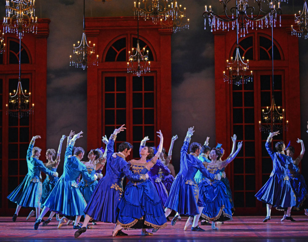 Dutch National Ballet in Christopher Wheeldon's <I>Cinderella</I>.<br />© Dave Morgan. (Click image for larger version)