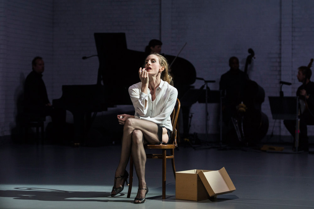 Wendy Whelan in Arthur Pita's The Ballad of Mack and Ginny, part of Other Stories.© Foteini Christofilopoulou. (Click image for larger version)