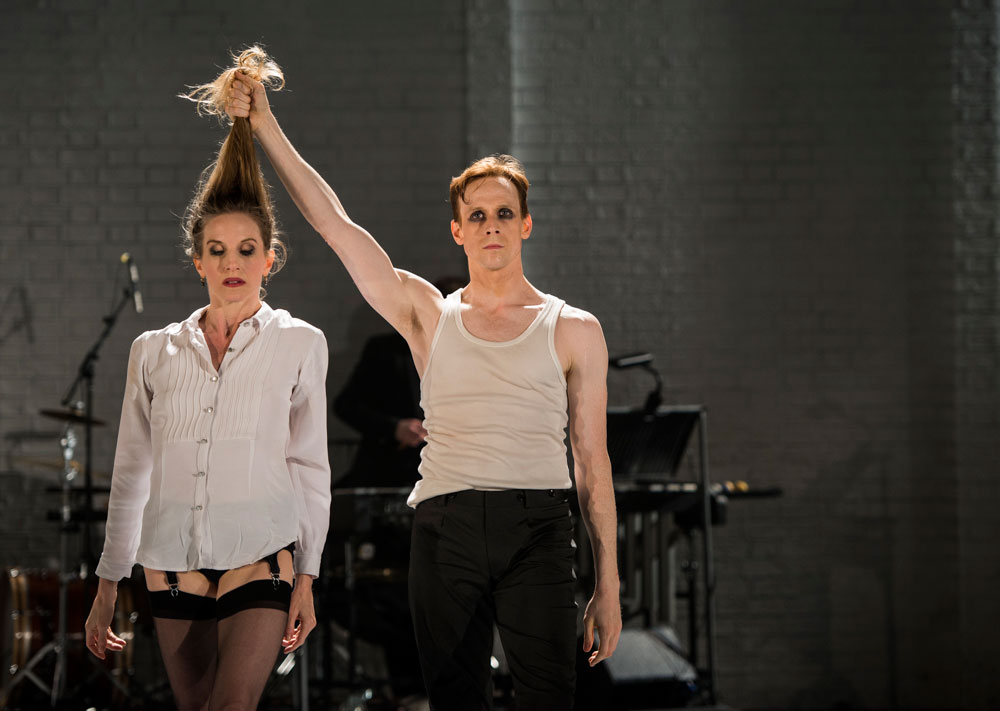 Wendy Whelan and Edward Watson in Arthur Pita's The Ballad of Mack and Ginny, part of Other Stories.© Foteini Christofilopoulou. (Click image for larger version)