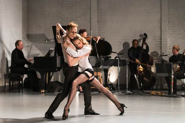 Wendy Whelan and Edward Watson in Arthur Pita's <I>The Ballad of Mack and Ginny</I>, part of <I>Other Stories</I>.<br />© Foteini Christofilopoulou. (Click image for larger version)