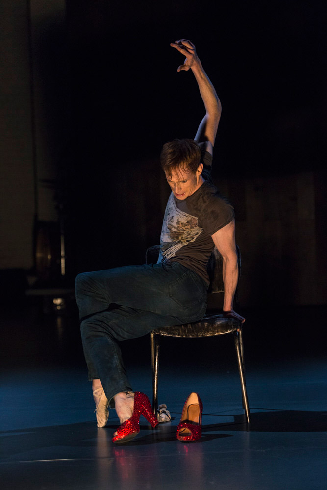 Edward Watson in Arlene Phillips' Dance Me to the End of Love, part of Other Stories.© Foteini Christofilopoulou. (Click image for larger version)