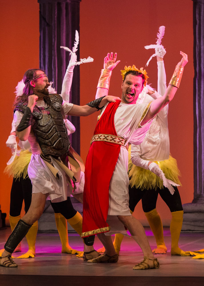 Pete Shenton and Tom Rodenin in Hercules.© Foteini Christofilopoulou. (Click image for larger version)