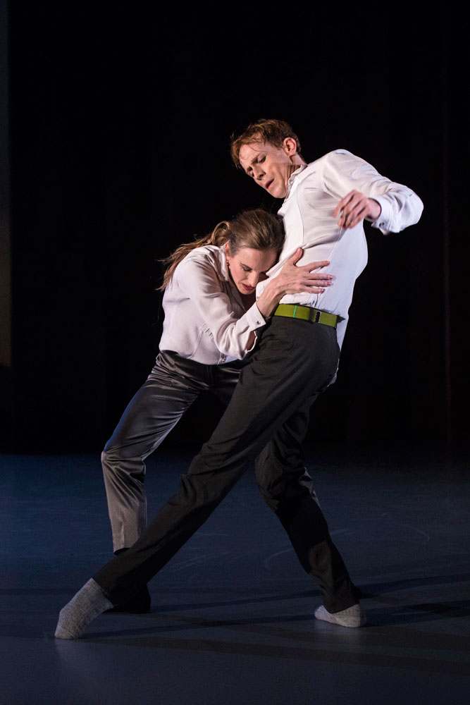 Wendy Whelan and Edward Watson in Danièle Desnoyers' The Song We Share, part of Other Stories.© Foteini Christofilopoulou. (Click image for larger version)