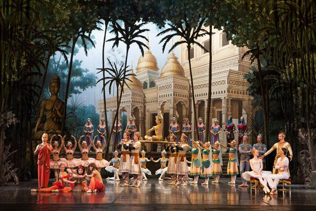 St Petersburg Ballet Theatre in <I>La Bayadere</I>.<br />© Andrei Klemeshev. (Click image for larger version)