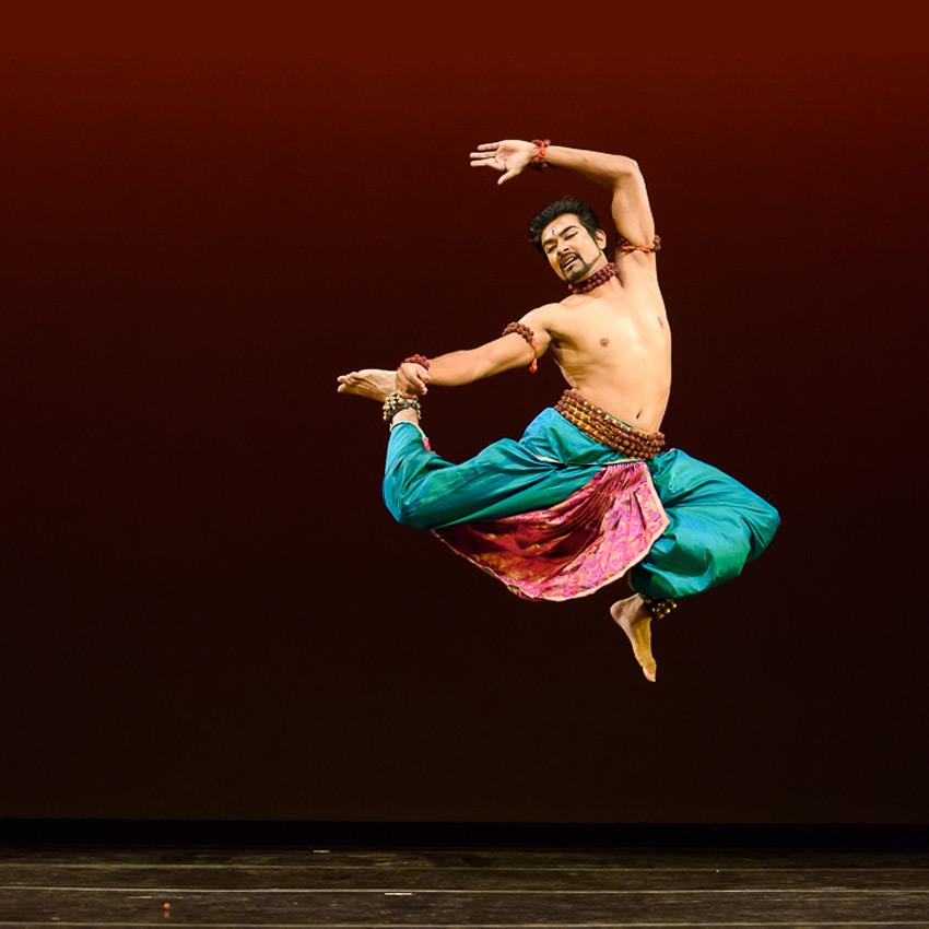 Rakesh Sai Babu in <I>Mahadeva</I>.<br />© Darial Sneed. (Click image for larger version)