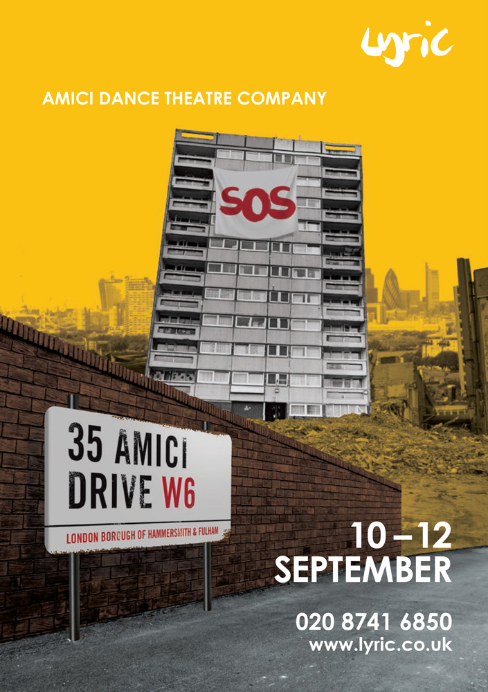 Poster for <I>35 Amici Drive</I>.<br />© Turtle Key Arts. (Click image for larger version)