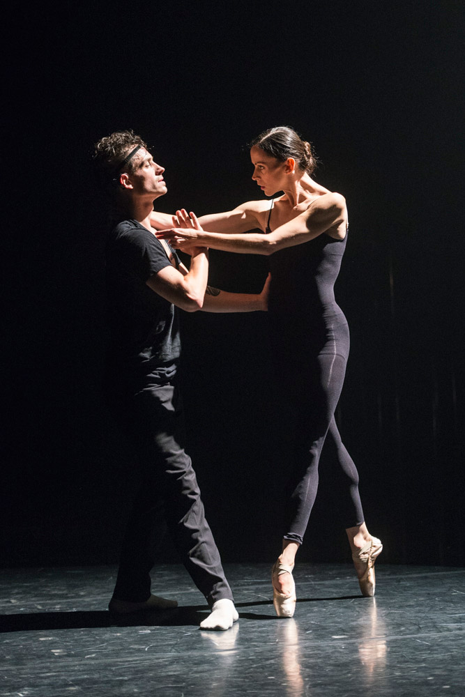 Cai Glover and IsaBelle Paquette in Symphonie Dramatique.© Foteini Christofilopoulou, courtesy the Royal Opera House. (Click image for larger version)