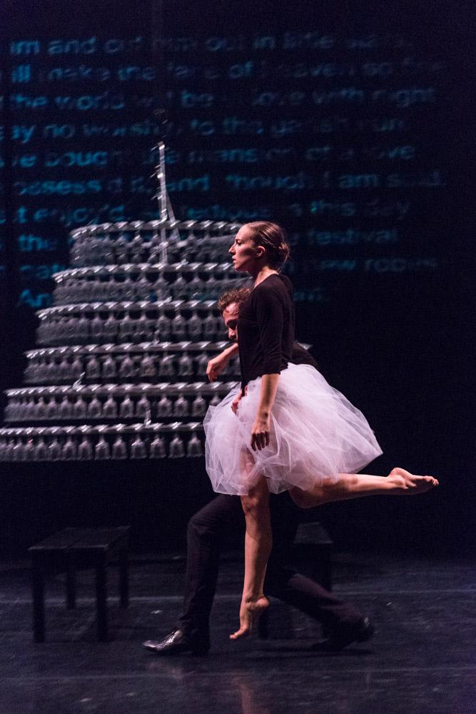Marc-André Poliquin and Daphnée Laurendeau in Symphonie Dramatique.© Foteini Christofilopoulou, courtesy the Royal Opera House. (Click image for larger version)