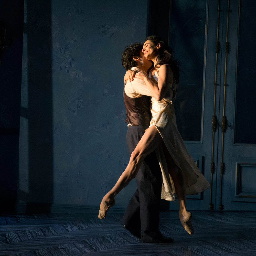 Alessandra Ferri and Herman Cornejo in Martha Clarke's Chéri.© Joan Marcus. (Click image for larger version)