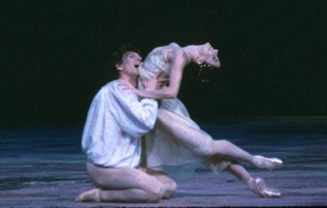 Alessandra Ferri and Julio Bocca in Romeo and Juliet.© MIRA, courtesy ABT.