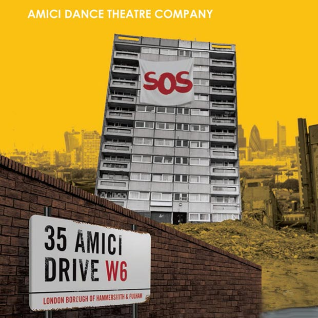 Poster for 35 Amici Drive.<br />© Turtle Key Arts. (Click image for larger version)