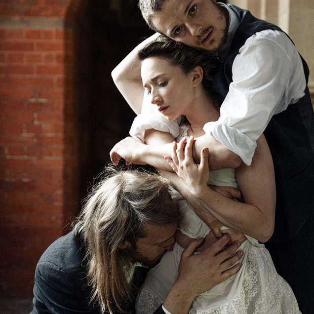 Karl Fargerlund-Brekke, Faith Prendergast and Daniel Whiley in publicity image for I Loved You and I Loved You.© Danilo Moroni. (Click image for larger version)