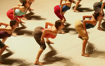Batsheva - The Young Ensemble.© Gadi Dagon. (Click image for larger version)