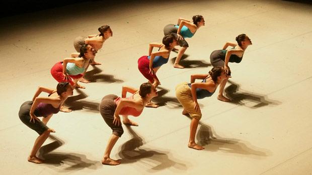 Batsheva - The Young Ensemble.<br />© Gadi Dagon. (Click image for larger version)