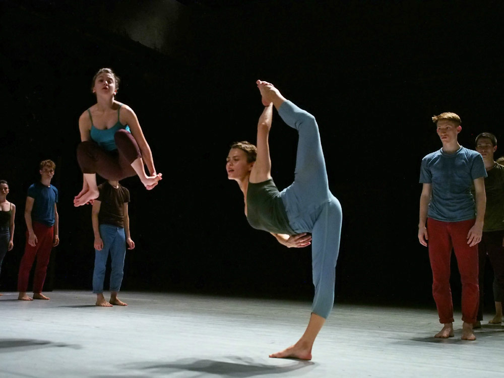 Korina Fraiman of Batsheva - The Young Ensemble.© Gadi Dagon. (Click image for larger version)