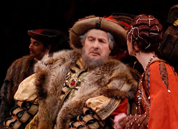 "David Drew in his later years - here as the Duke of Courland in <I>Giselle</I>.<br />© <a href=""http://www.johnrossballetgallery.co.uk"">John Ross</a>, courtesy the Royal Opera House."