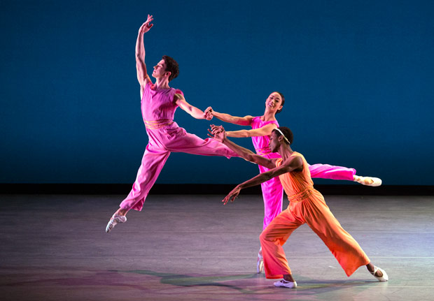 Arron Scott, Stella Abrera and Calvin Royal III in After You by Mark Morris.© Rosalie O'Connor. (Click image for larger version)