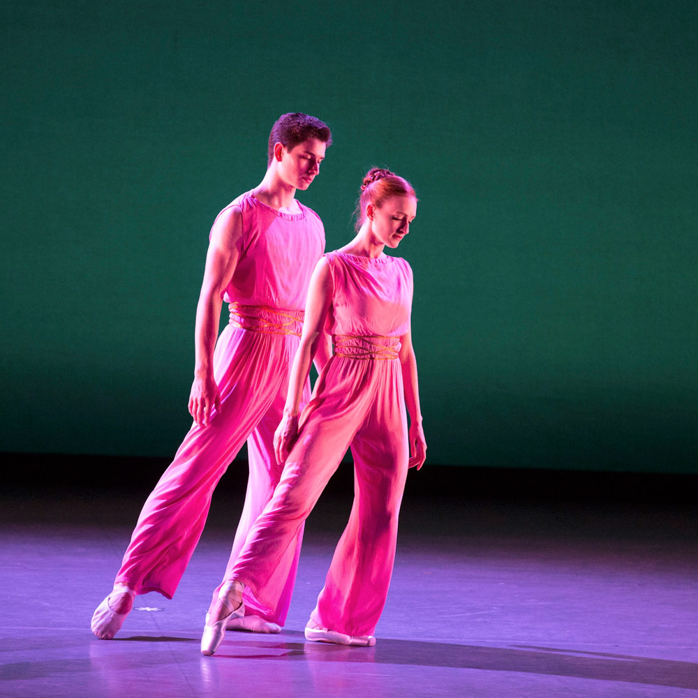Gillian Murphy and Sterling Baca in After You by Mark Morris.© Rosalie O'Connor. (Click image for larger version)