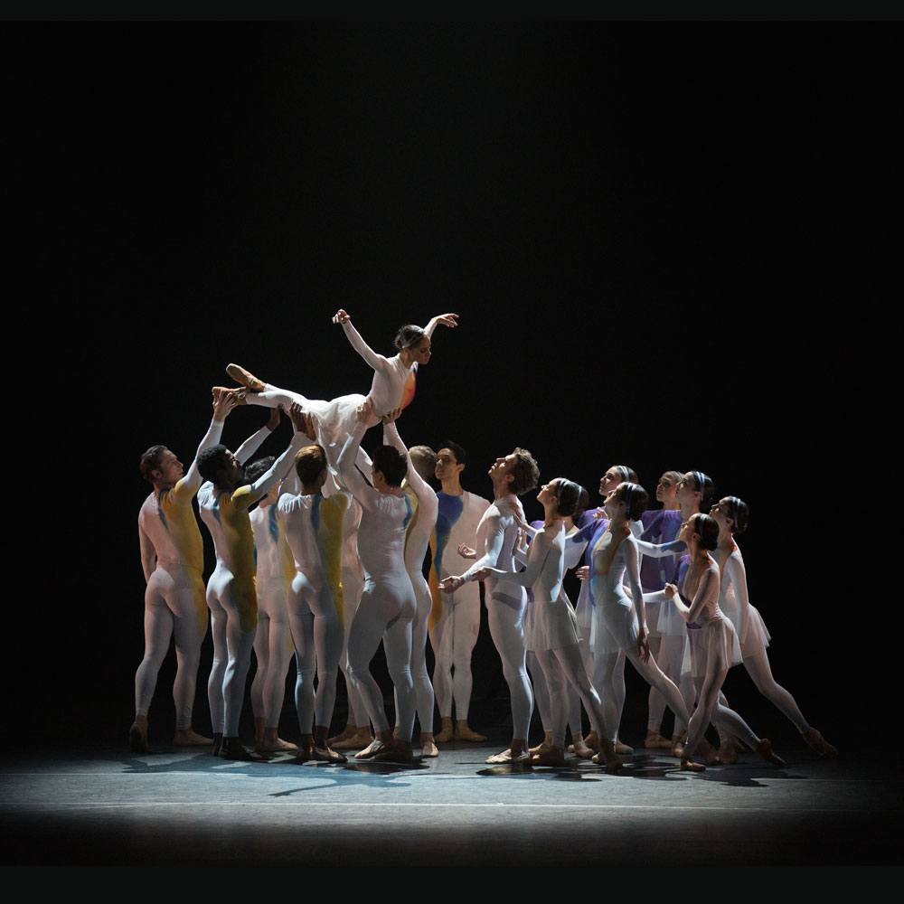 Misty Copeland and James Whiteside in Marcelo Gomes' <I>AfterEffect</I>.<br />© Rosalie O'Connor. (Click image for larger version)
