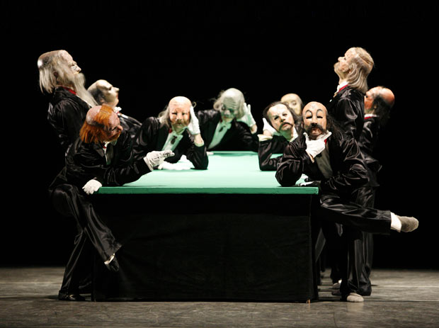ABT in <I>The Green Table</I>.<br />© Rosalie O'Connor. (Click image for larger version)