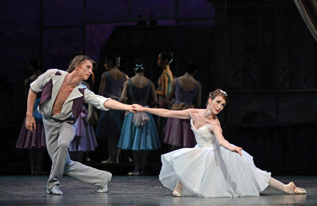 Vadim Muntagirov and Lauren Cuthbertson in <I>The Two Pigeons</I>.<br />© Dave Morgan, courtesy the Royal Opera House. (Click image for larger version)