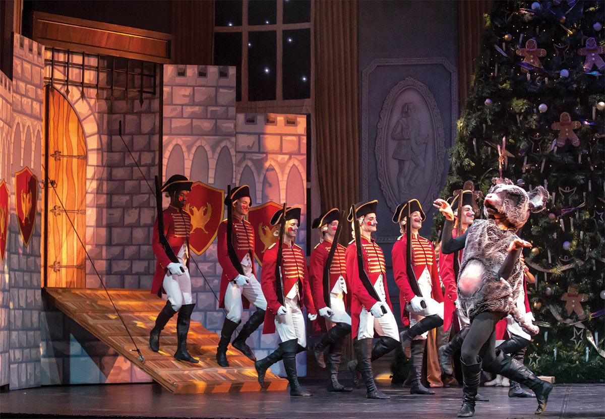 Northern Ballet in <I>The Nutcracker</I>.<br />© Emma Kauldhar. (Click image for larger version)