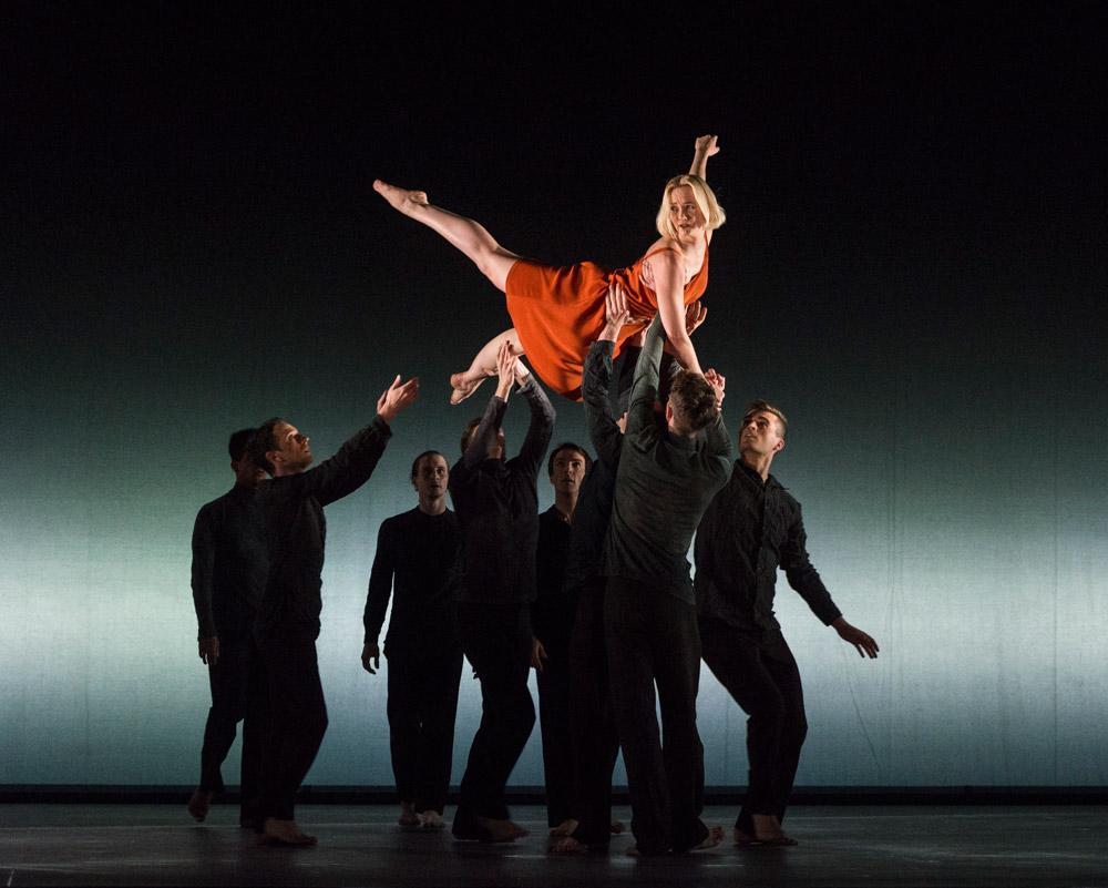 Simone Damberg Wurtz in Kim Brandstrup's Transfigured Night.© Foteini Christofilopoulou. (Click image for larger version)