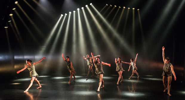 Phoenix Dance Theatre in <I>Until.With / Out.Enough</I>.<br />© Foteini Christofilopoulou. (Click image for larger version)