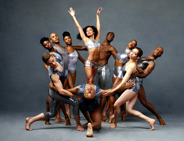Alvin Ailey American Dance Theater.<br />© Andrew Eccles. (Click image for larger version)