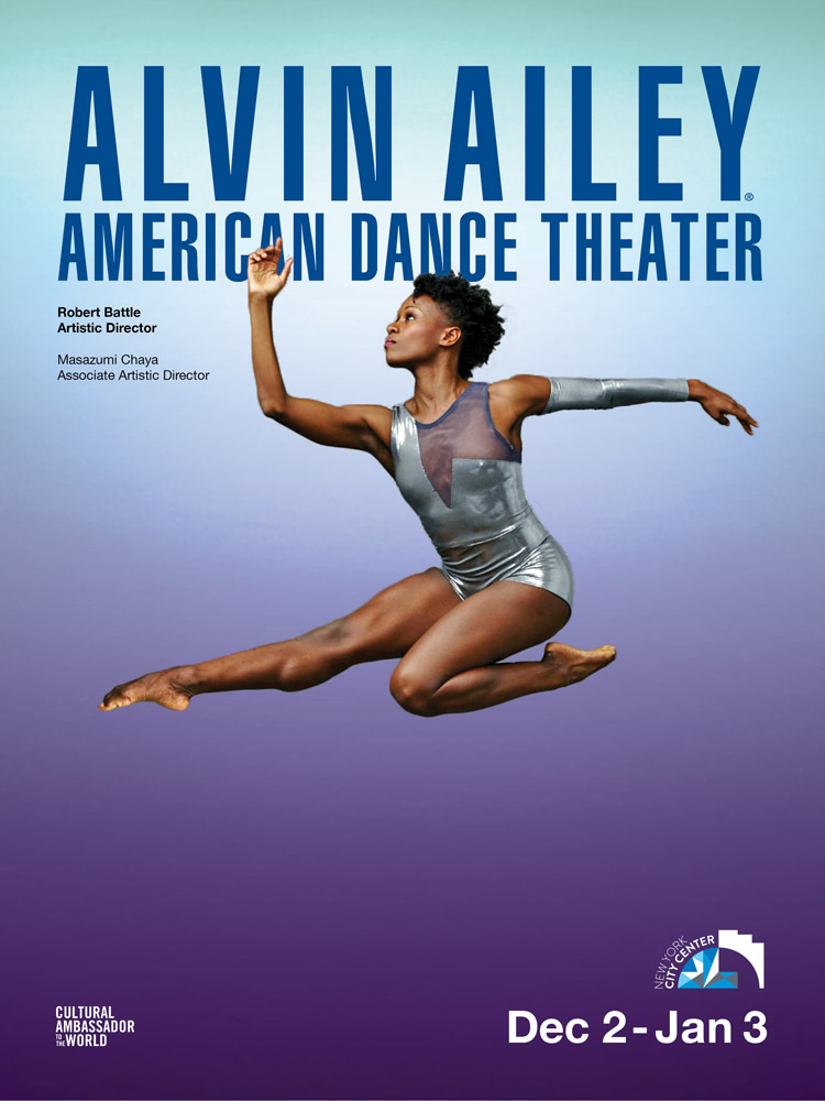 AAADT's season poster with Rachael McLaren.© Andrew Eccles. (Click image for larger version)