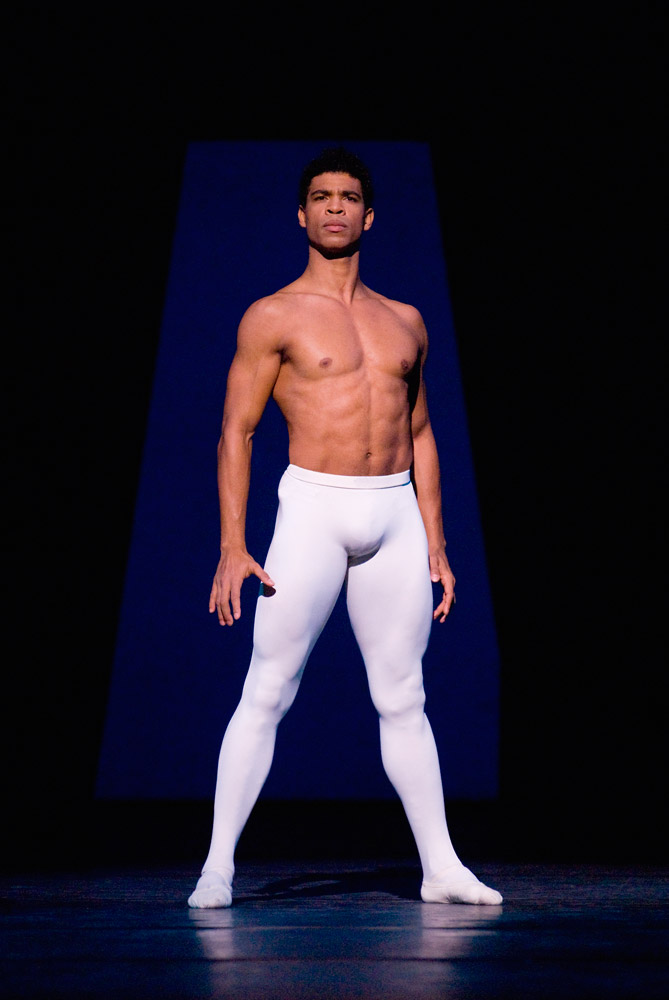 Publicity image of Carlos Acosta as Apollo.© Angela Taylor. (Click image for larger version)