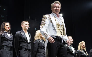 Michael Flatley in Lord of the Dance.© Brian Doherty for Rapa Investments. (Click image for larger version)