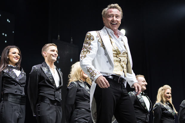 Michael Flatley in <I>Lord of the Dance</I>.<br />© Brian Doherty for Rapa Investments. (Click image for larger version)