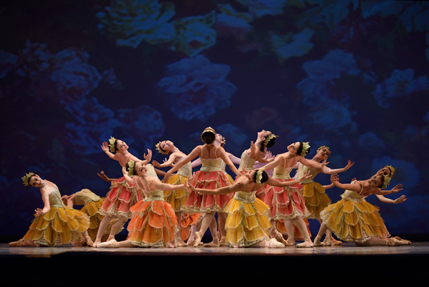 San Francisco Ballet in Tomasson's <I>Nutcracker</I>.<br />© Erik Tomasson. (Click image for larger version)