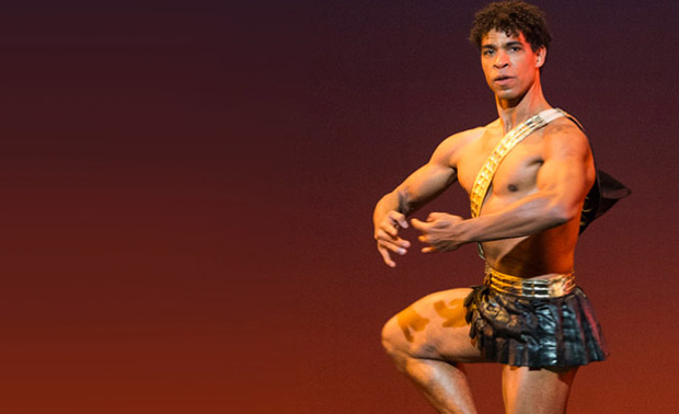 Carlos Acosta in <I>Diana and Actaeon</I>.<br />© Foteini Christofilopoulou. (Click image for larger version)