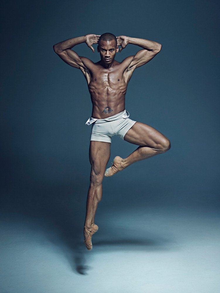 Eric Underwood.© Rick Guest. (Click image for larger version)Taken from: What Lies Beneath - portraits of dancers by Rick GuestAvailble at: rg-books.com