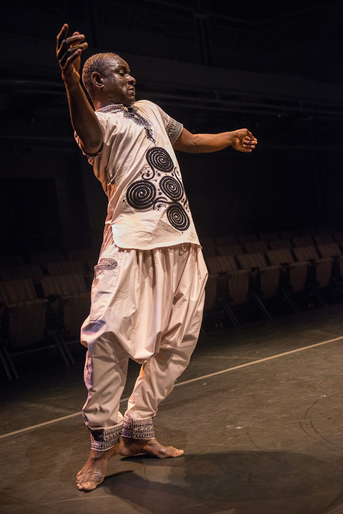 Souleymane Badolo in Yimbégré.© Stephanie Berger. (Click image for larger version)