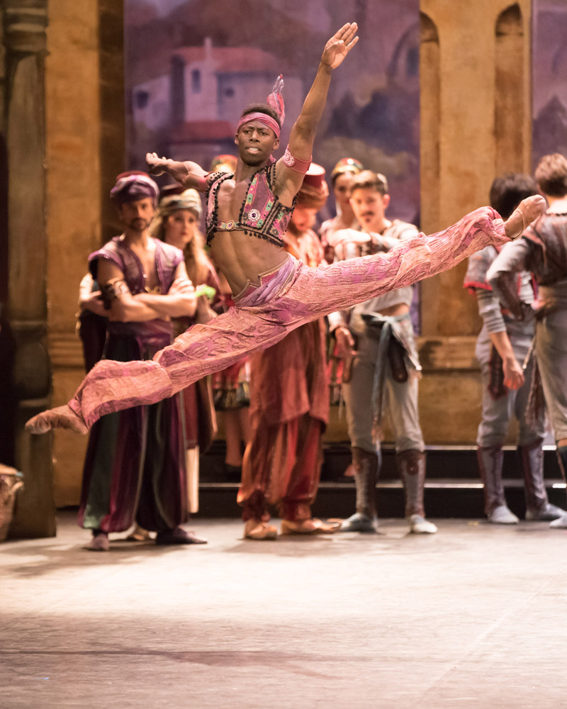 Brooklyn Mack in Le Corsaire.© © ASH, Arnaud Stephenson. (Click image for larger version)