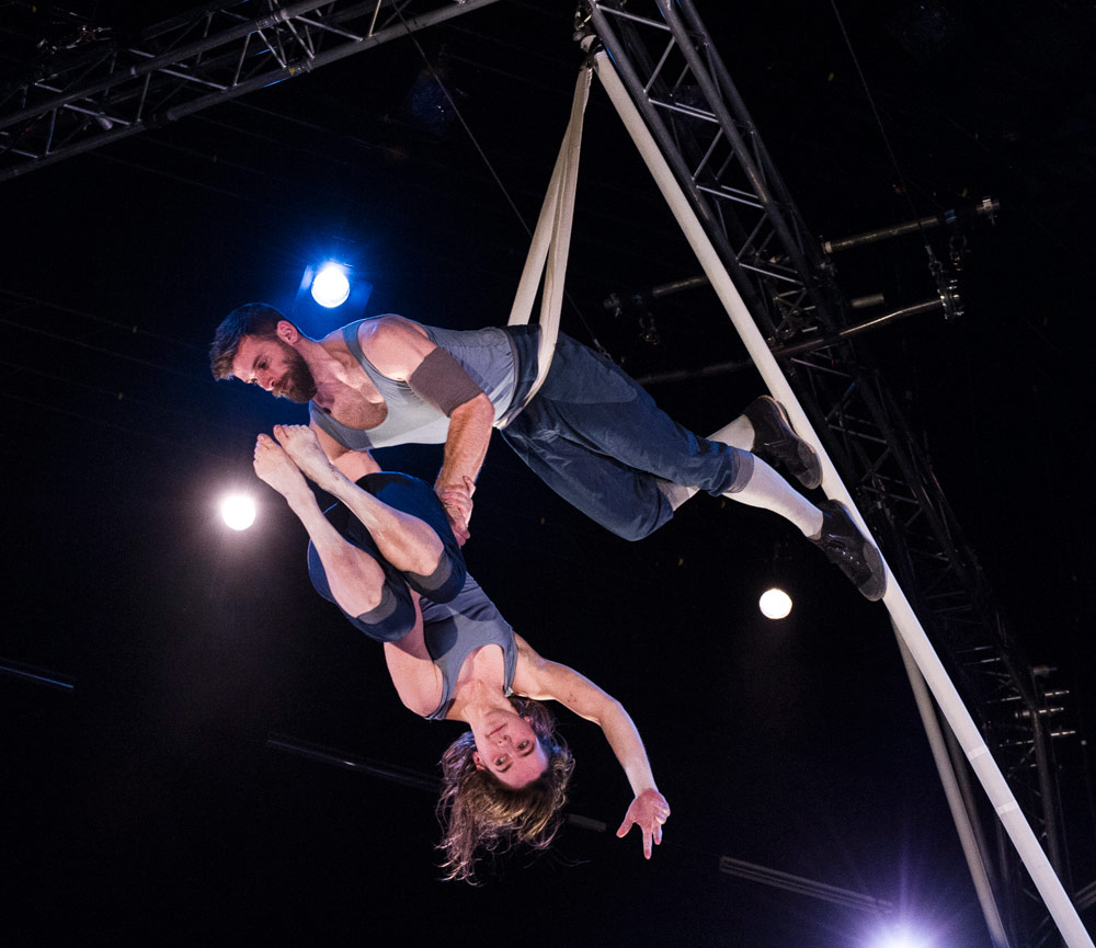 Emily Nicholl and Alex Harvey in Tipping Point.© Foteini Christofilopoulou. (Click image for larger version)
