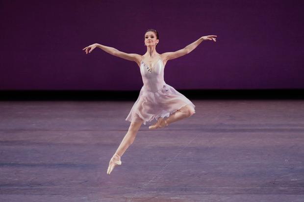Lauren Lovette in <I>Walpurgisnacht Ballet</I>.<br />© Paul Kolnik. (Click image for larger version)