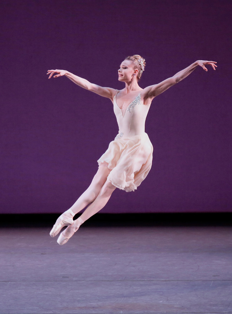 Sara Mearns in Walpurgisnacht Ballet.© Paul Kolnik. (Click image for larger version)