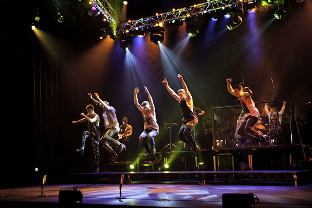 RAW Dance Company in <I>Untapped!</I>.<br />© Amanda Brenchley. (Click image for larger version)
