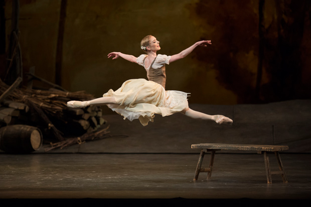 Sarah Lamb in <I>Giselle</I>.<br />© Bill Cooper, courtesy the Royal Opera House. (Click image for larger version)
