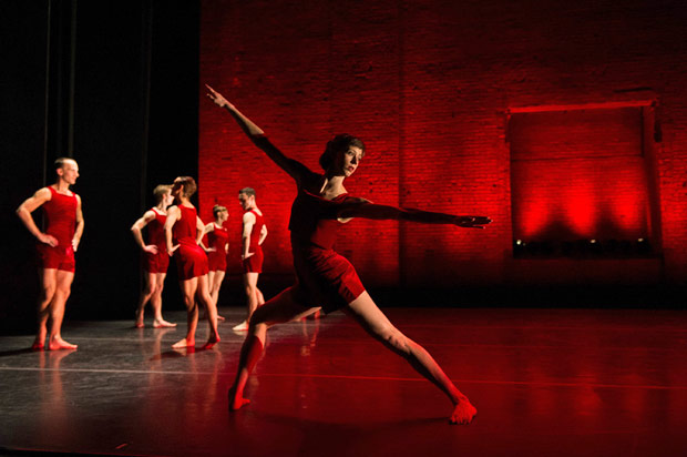 Pam Tanowitz Dance, promotional picture.<br />© Christopher Duggan. (Click image for larger version)