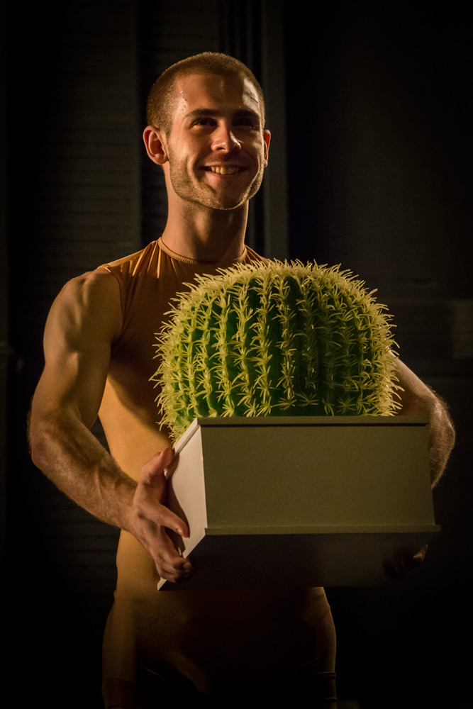Sydney Dance Company's Cacti featuring dancer Cass Mortimer Eipper.© Peter Greig. (Click image for larger version)